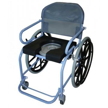 fauteuil de douche sur roues pour les collectivit s. Black Bedroom Furniture Sets. Home Design Ideas