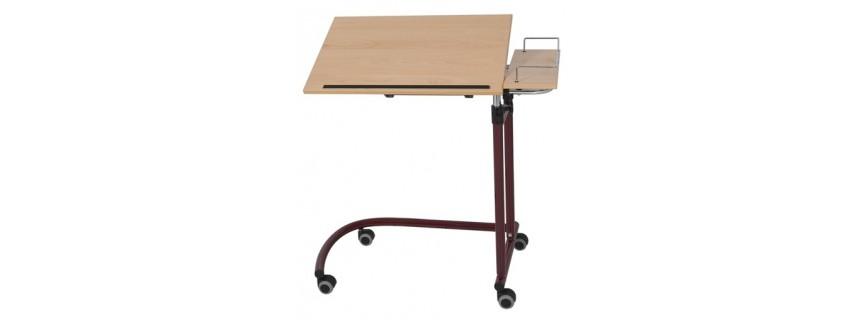 tables manger au lit choix de coloris des tubes et du plateau garapon medical pro. Black Bedroom Furniture Sets. Home Design Ideas